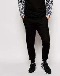 Eleven Paris X Life Is A Joke Skinny Joggers With Contrast Pocket Black