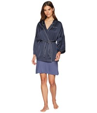 Emporio Armani Pajama Couture Kimono Night Blue Clothing Navy