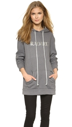Rodarte Radarte Hoodie Light Grey