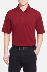 Cutter And Buck Men's 'Championship' Classic Fit Drytec Golf Polo Chutney