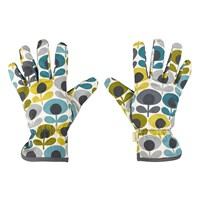 Orla Kiely Potting Gloves Multi Flower Oval Print