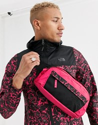 The North Face 94 Rage 'Em Fanny Pack S In Rose Red Black Pink