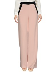 Edward Achour Casual Pants Pink