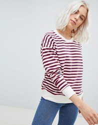 Pull And Bear Pullandbear Stripe Sweatshirt Multi