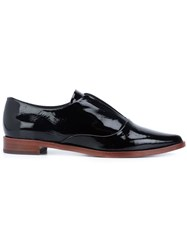 Derek Lam 10 Crosby Pointed Toe Loafers Black