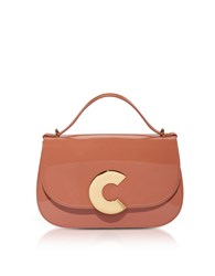 Coccinelle Handbags Craquante Patent Maxi Leather Satchel Bag