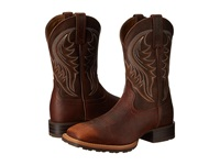 Ariat Hybrid Rancher Brown Oiled Rowdy Cowboy Boots