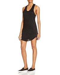 Generation Love Carey Lace Up Dress Black