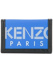 Kenzo Classic Trifold Wallet Blue