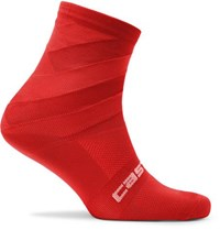 Castelli Free Kit 13 Stretch Nylon Socks Red