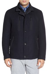 Men's Big And Tall Sanyo Fashion House 'Rainwool' Water Repellent Driving Jacket