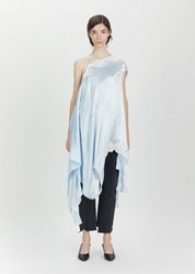 Vetements Granny Slip Dress Blue Size Small