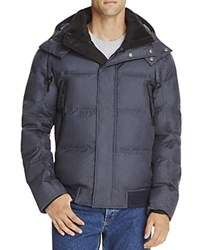 Andrew Marc New York Coventry Down Puffer Jacket Ink