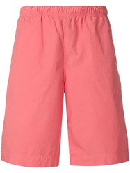 Paul Smith Ps Elasticated Bermuda Shorts Pink