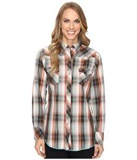 Roper 0627 Russet Plaid Brown Women's Clothing