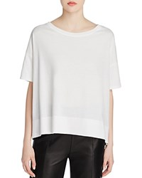 Vince Boat Neck Tee Off White