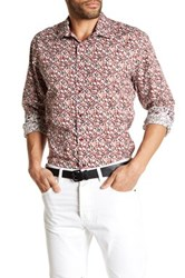 1 Like No Other Long Sleeve Woven Dot Classic Fit Shirt Multi