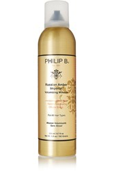 Philip B Russian Amber Imperial Volumizing Mousse Colorless