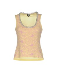 Tricot Chic Tops Yellow