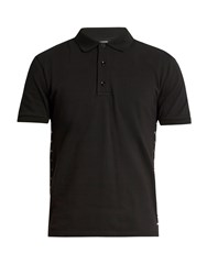 Valentino Rockstud Untitled 16 Polo Shirt Black