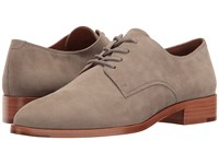 Frye Erica Oxford Grey Oiled Nubuck Women's Shoes Gray