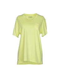 Fred Mello T Shirts Yellow