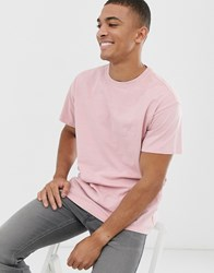 New Look Oversized T Shirt With Atlanta Print In Pink