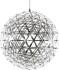 Moooi Raimond R61 Suspended Lamp Dimmable Silver