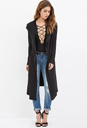 Forever 21 Faux Fur Lined Jacket Black