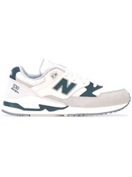 New Balance 530 Sneakers Women Suede Nylon Polyester Rubber 36.5 Nude Neutrals