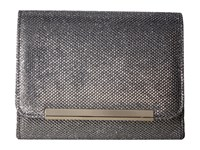 Jessica Mcclintock Katie Lurex Clutch Pewter Clutch Handbags