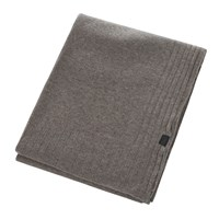 Zoeppritz Since 1828 Hot Cashmere Throw 110X150cm Smoke