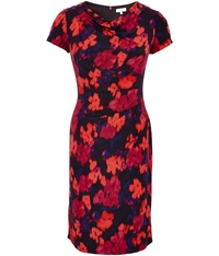 Cc Lift And Shape Floral Print Dress Multi Coloured
