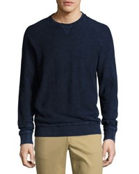 Original Penguin Bleach Indigo Crewneck Sweater Dark Blue