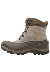 The North Face Chilkat Ii Winter Boots Split Rock Brown Grey Light Brown