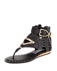 Ivy Kirzhner Bellatrix Vachetta Leather Sandal Black