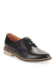 Seychelles Hoodlum Point Toe Oxfords Black