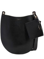 Sara Battaglia Rachel Leather Hobo Bag Black