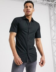 Only And Sons Short Sleeved Shirt In Black