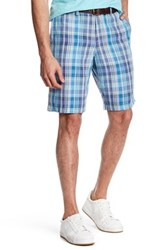 Tommy Bahama Plaid Of Versailles Short Blue