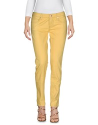 M.Grifoni Denim Jeans Yellow