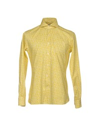 Domenico Tagliente Shirts Yellow