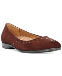 Naturalizer Joana Flats Women's Shoes Bridal Brown