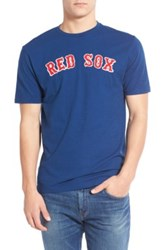 American Needle Boston Red Sox Twofold Crew Neck Tee Blue