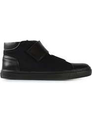 Opening Ceremony Velcro Hi Top Sneakers Black