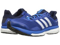 Adidas Supernova Glide 8 Eqt Blue White Collegiate Navy Men's Running Shoes