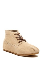 Toms Suede Moccasin Boot Beige
