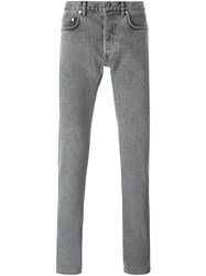 Christian Dior Homme Slim Fit Jeans Grey