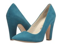 Anne Klein Hollyn Turquoise Suede Women's Shoes Blue