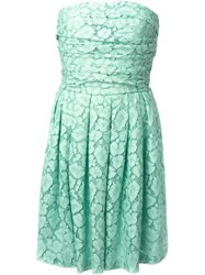 Moschino Cheap And Chic Lace Strapless Dress 60